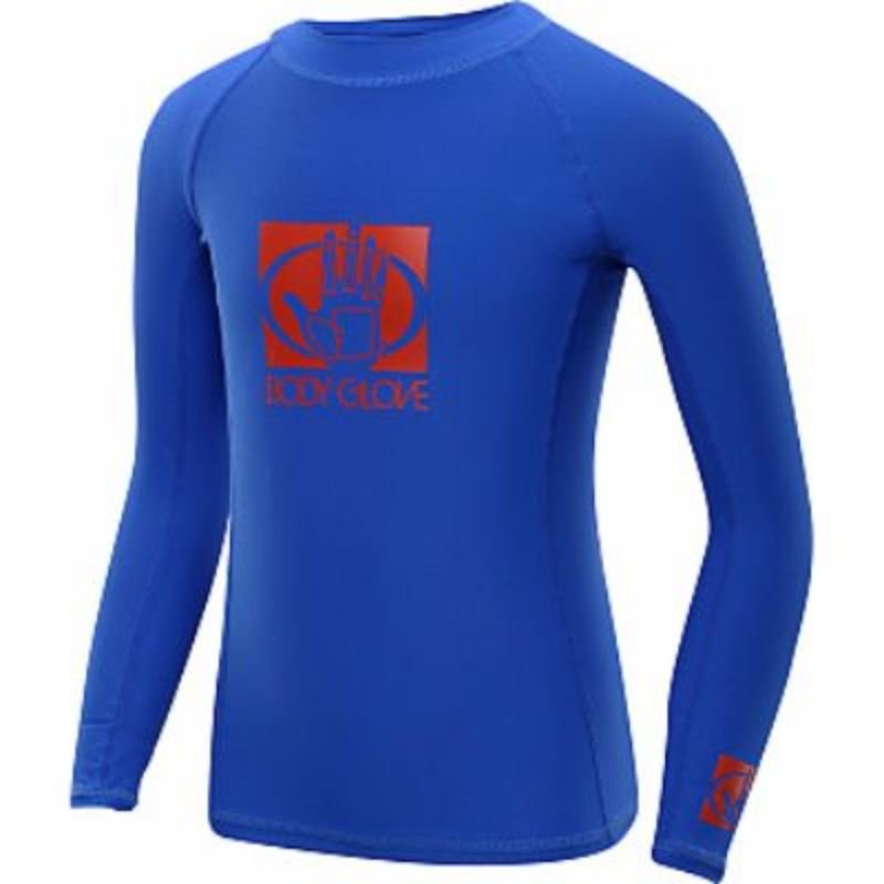 BODY GLOVE MEN'S LONG ARM RASHGUARD - ROYAL